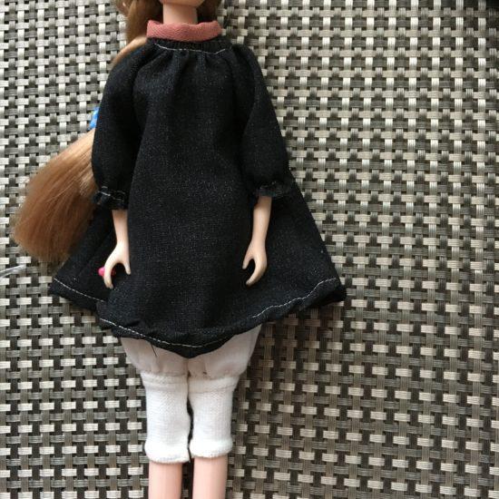 HANON ドール服、刺繍ワンピースの作り方