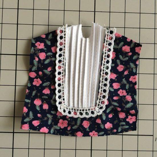 ドール服が格段にかわいくなる、細いひだ(ピンタック)の縫い方
