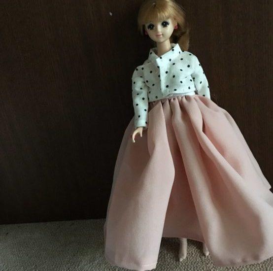 ドール服、かわいさアップ韓国の民族ドレス「チマチョゴリ」の作り方
