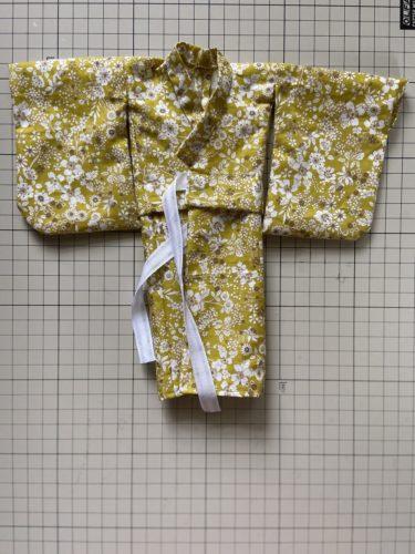 ドール服、意外と簡単!!ジェニーのゆかたを作ってみました
