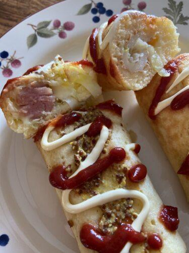 卵焼き器とHMで「ちくわ・ウインナーロール」朝食にもおすすめ!
